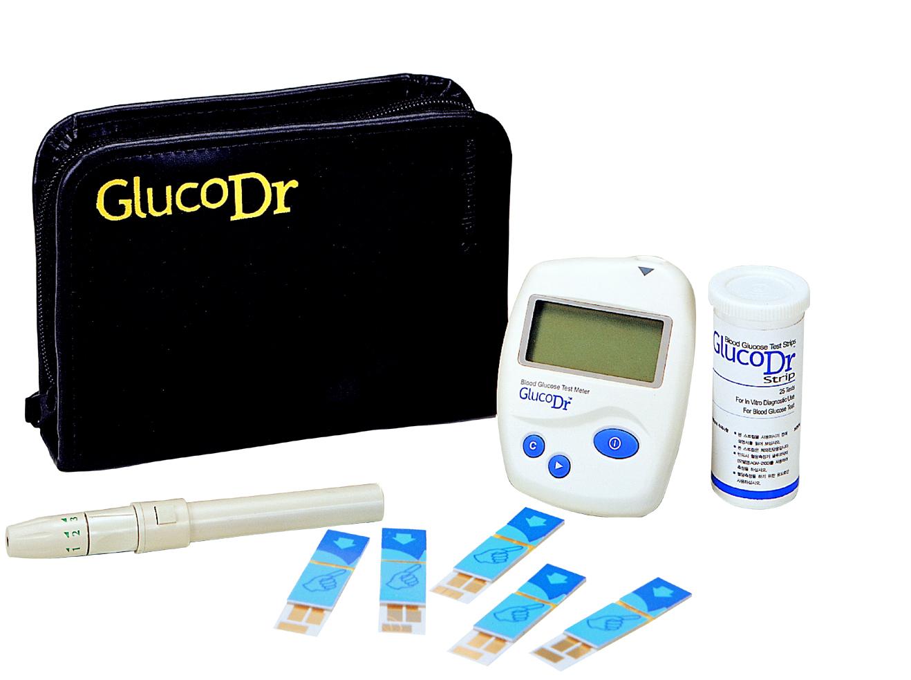 Glucodr Alat Fitness Jakarta Strip Gluco Dr Bio Sensor Agm2100
